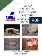 Fauna Paraguay Handbook of the Mammals of Paraguay II - PortalGuarani.com