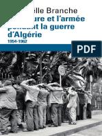 La torture et larmée pendant la guerre dAlgérie  - Raphaëlle Branche