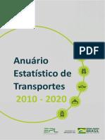 Anuário Estatistico de Transportes 2010-2020