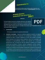 Convocatoria Premio Estatal Juventud Con Grandeza Guanajuato 2021