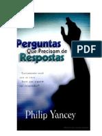 Philip Yancey - Perguntas Que Precisam de Respostas