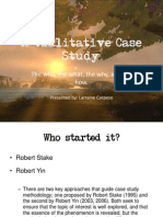 Qualitative Case Studies