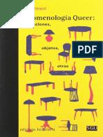 Sara Ahmed - Fenomenología Queer - Orientaciones, Objeto, Otros