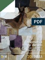Memoria y Deseo Sexo y Genero en El Archivo Tabula