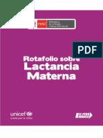 EXPO LACTANCIA MATERNA ROTAFOLIO