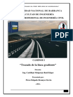 Trazado de la línea de gradiente_Caminos1