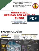 HERIDAS POR ARMA DE FUEGO Kleyder