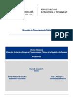 Informe Trimestral - Marzo 2021a-Deuda pública de Panamá