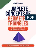 Geometry Triangles PDF