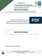 Rapport Atelier de Validation_produits Climatiques