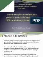 Aula_3 - Transformações anos 30