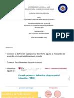 CUARTA DEFINICION DE INFARTO