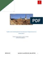 Quelles voies de devéloppement innovantes pour la biomasse au 21ème siècle - SAAD, BENSLAOUI, QUEYROIX