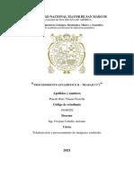 Pinedo Ruiz Thania - Procedimientos Estadistico r