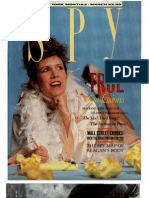 Spy Magazine 1987