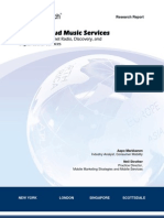Mobile Cloud-Based Music Streaming Services ABI Research