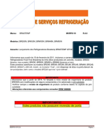 Manual de Serviços Refrigerador Brastemp BRM50