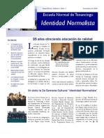 Boletín Identidad Normalista No. 3