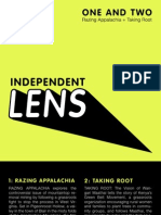 Independent Lens CD inserts
