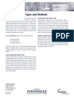 IEC_Standards, UPS Types and Methods