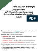 Biologie Moleculară Curs
