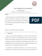 Artículo Metodos y Herramientas de Investigacion
