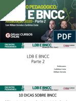Encontro Pedagogico - LDB E BNCC Parte 2
