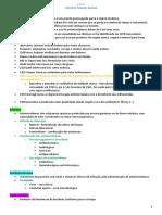 1.3 - Resumo Farmacologia II - Antimicrobianos (introdução)