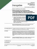 NF P 98-231-3 Dec-92 (P 98-231-3) Détérmination Du Comportement Au Compactage Des Matériaux d'Assises Autres Que Traités Au Liants Hydrocarbonés Partie 3