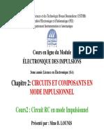Cours2-Circuit RC en mode impulsionnel