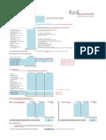 Business Plan Exemple Excel Gratuit