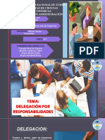 GRUPO N°6 - DELEGACION DE RESPONSABILIDADES