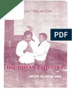 DOUTRINAS BATISTAS 1 - DELCYR DE SOUZA LIMA