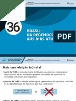 Brasil, da redemocratização aos dias atuais