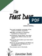 Vance Ferrell - Feast Days