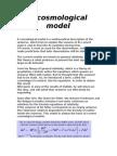 A Cosmological Model