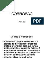 Corrosão - Gil