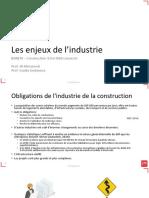 BIM-Les enjeux de lindustrie