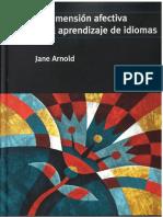 La Dimension Afectiva en El Aprendizaje de Idiomas Eclairci
