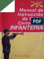 MANUAL DE INSTRUCCIÓN DE ORDEN CERRADO DE INFANTERIA