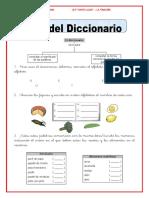 USO DEL DICCIONARIO 3°- SEMANA 3 (1)