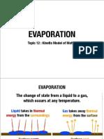 12 Evaporation