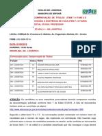 IBIPORÃ - CONVOCAÇÃO PARA COMPROVAÇÃO DE TÍTULOS E CONTRATACÃO COND. A EXISTÊNCIA DE VAGA PSS EDITAL 57 2018 ETAPA 31  GN LOGÍSTICA 01 08 2019 ÀS 10 HORAS