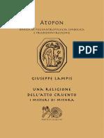 Dokumen.pub Una Religione Dellatto Cruento i Misteri Di Mithra