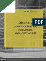 Diseño y producción de recursos educativos II