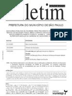 Edital TEF 2003