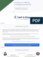 Livre Blanc Cash is King - Budget Prévisionnel.pptx