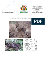 cours inventaire faune
