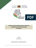 curriculum-formatrionCAPES