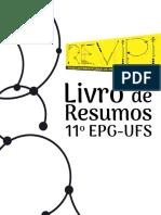 Anais Do 11º Encontro de Pós-Graduação Da UFS-2019